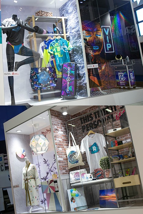Inspirational applications showcase at FESPA 2018