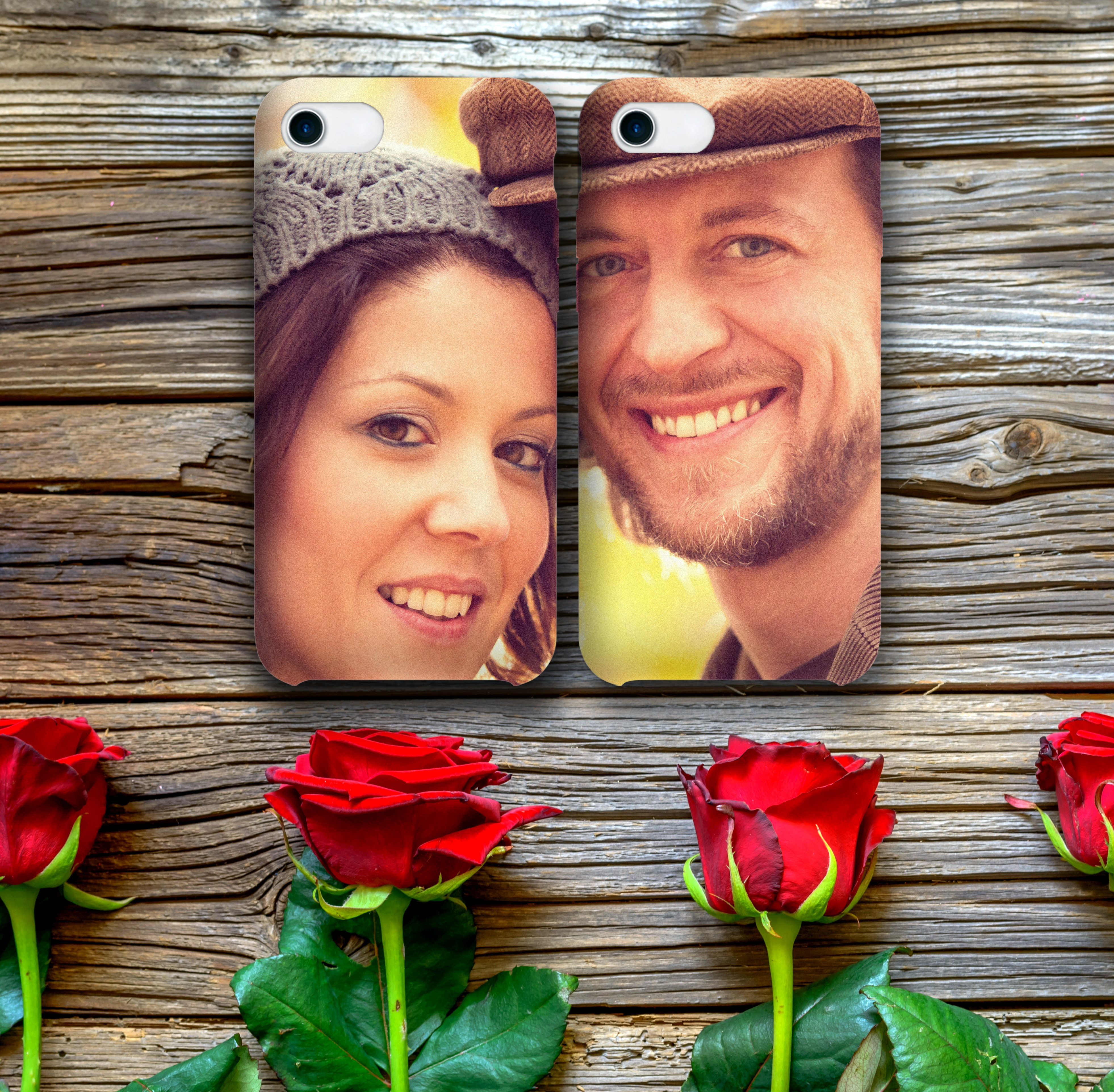 photos printed on mobile phone cases