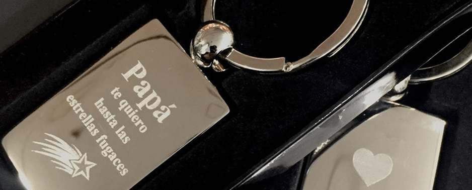 The METAZA MPX-95 can engrave personal messages onto keepsakes like metal keyrings