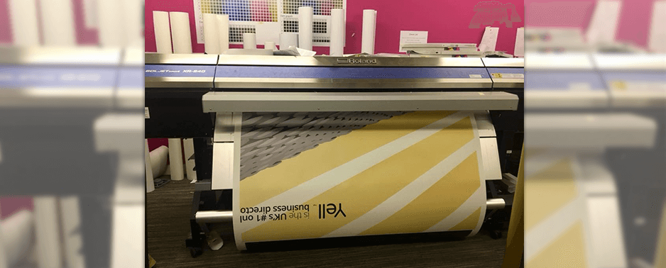 large format printer for signs
