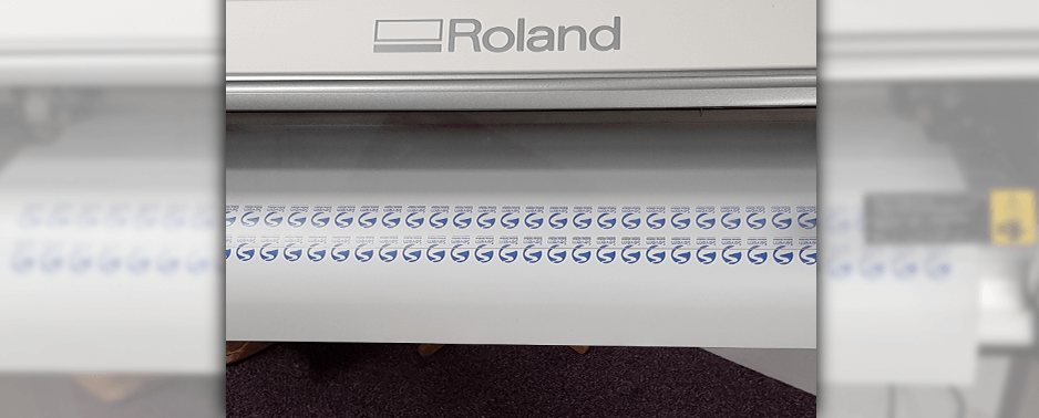 Roland printers and cutters are used by TACTeam to create various graphics