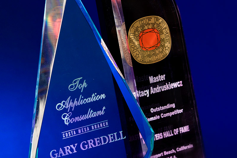 Personalized engraved awards