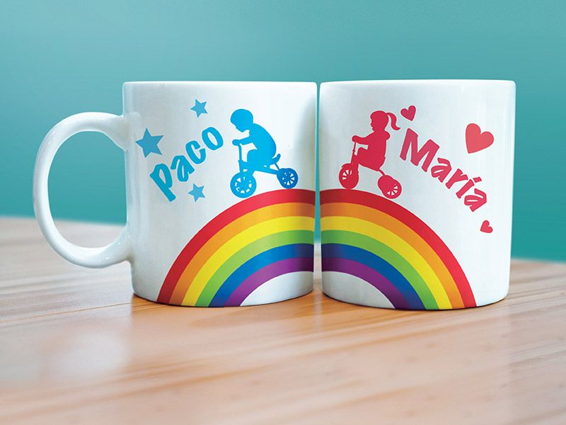 Design personalised mugs for family, friends and loved ones