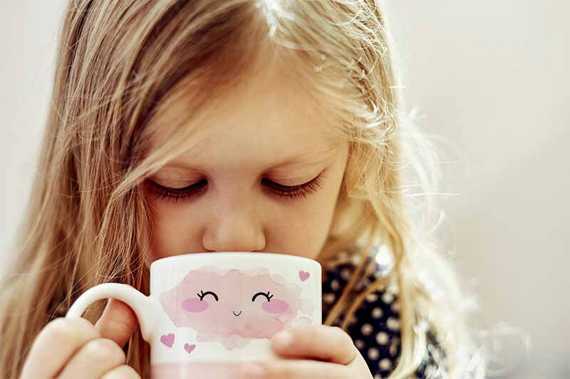 dyesublimate cute graphics on mugs for the perfect mug gift for young girls and boys
