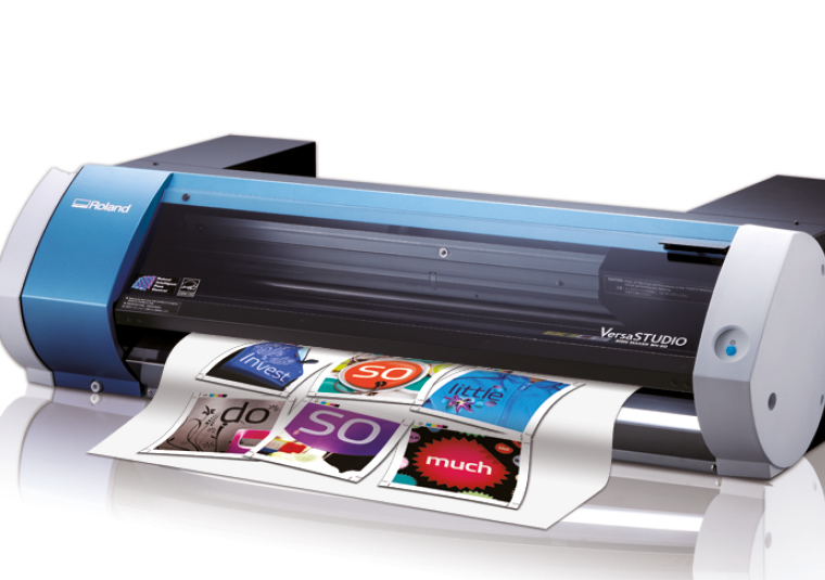 Roland desktop VersaSTUDIO BN-20 printer cutter great for those entering the world of digital print