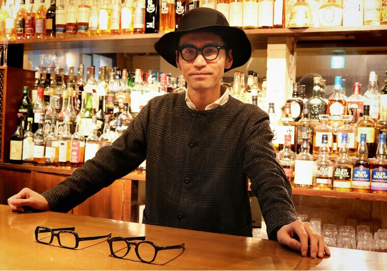 Daisuke Higa explains how his individually tailored eye wear is made