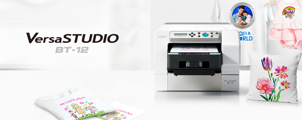 61966ba1d Roland DG Announces Forthcoming Launch of Its First Direct-To-Garment  Printer for On-Demand Personalisation