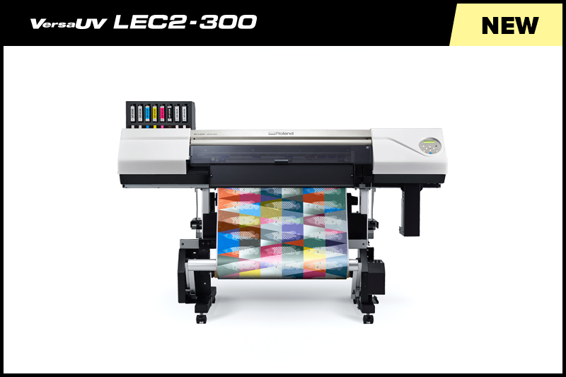 Roland DG raises the bar for versatile, on-demand output with new VersaUV LEC2-300 Printer/Cutter