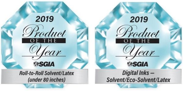 TrueVIS VG2 wins SGIA 2019 Awards
