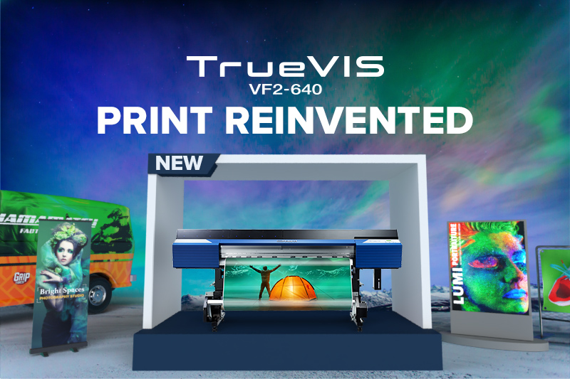 Discover TrueVIS VF2 printer