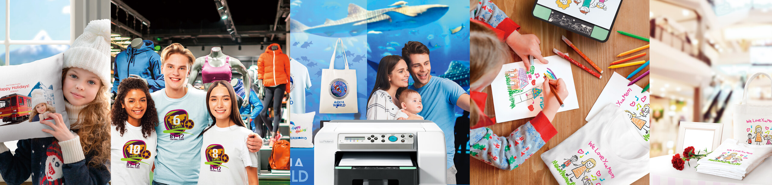 BT-12 direct-to-garment printer can be used to print any sort of idea on clothes