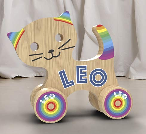 Children's wooden toy printed with the SF-200