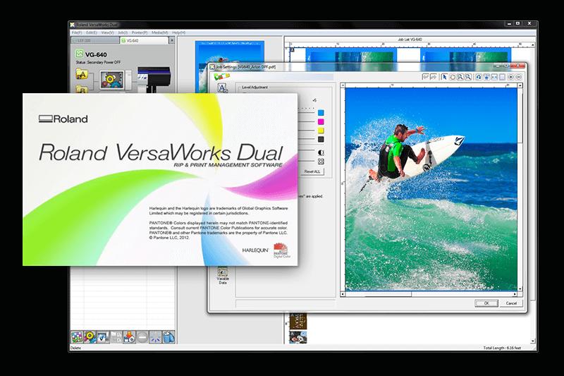 VersaWorks Dual | RIP & Print Management Software | Roland DG