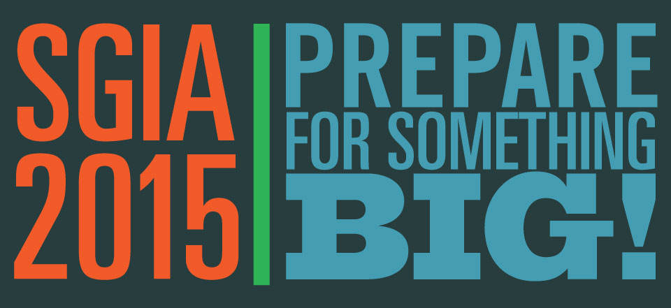 Roland @ SGIA 2015 - Prepare for something Big!