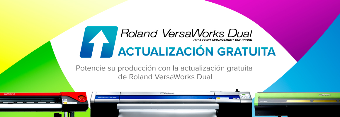 actualice a VersaWorks Dual