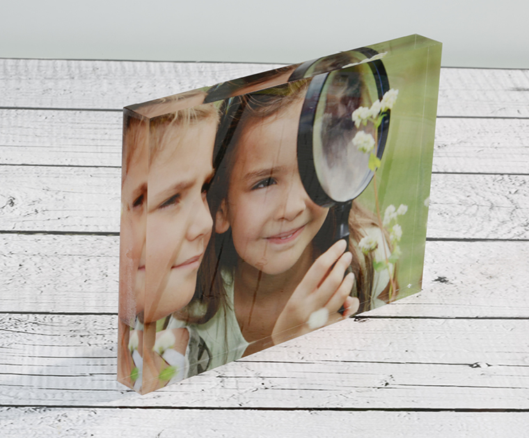 Photo blocks are a popular application for uv benchtop printers