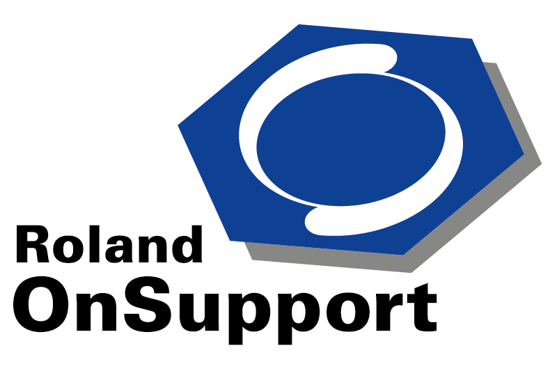 Logo Roland On Support