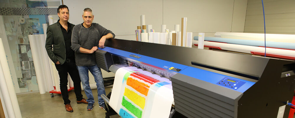 HEADER Gielen Reclame have been extensively testing the new Roland TrueVIS VG2 printer-cutter