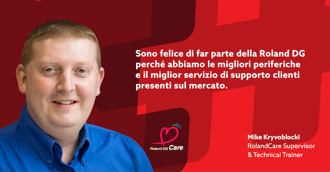 Supporto totale con #WithRoland