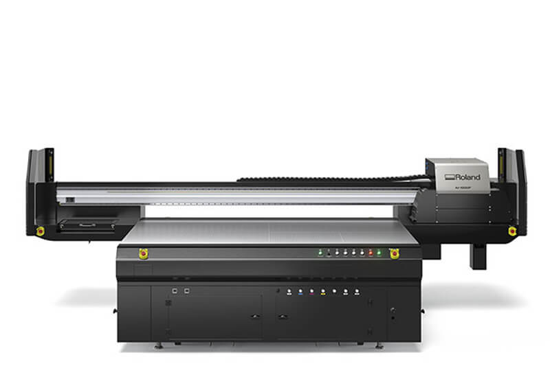 IU-1000FUV flatbed printer