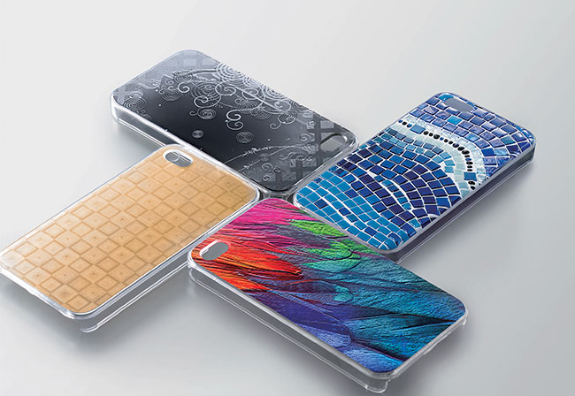 Phone cases printed with Roland VersaUV LEF2 Series