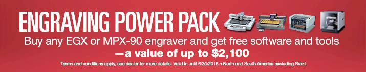 Engraving Power Pack Promo valid until June 30 2016