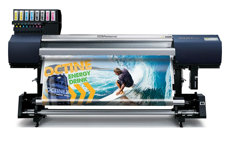SOLJET EJ-640 Large Format Color Printer