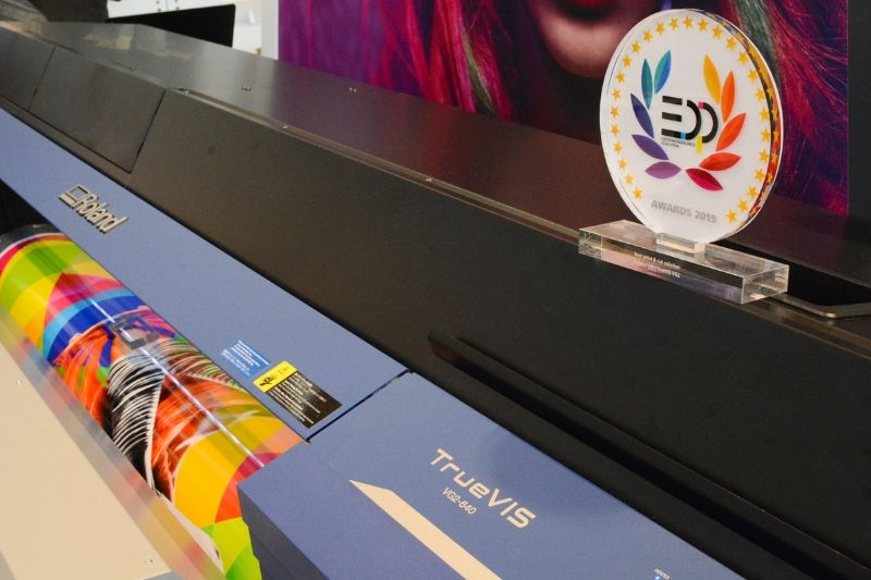 Roland TrueVIS VG2 Series Wins 2019 EDP Award for Best Print & Cut Solution