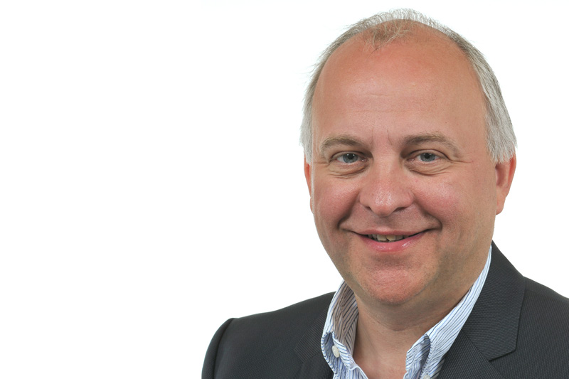 Paul Willems, hoofd Product Management en Business Development bij Roland DG EMEA