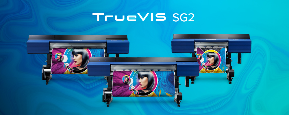 Roland DG Expands Award-Winning TrueVIS Printer/Cutters Lineup with New SG2 Series