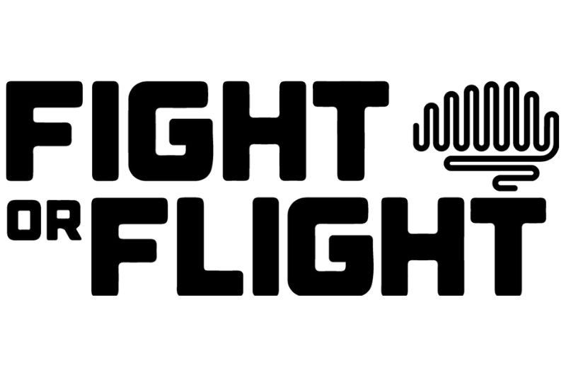 Logo Fight or Flight uit Londen