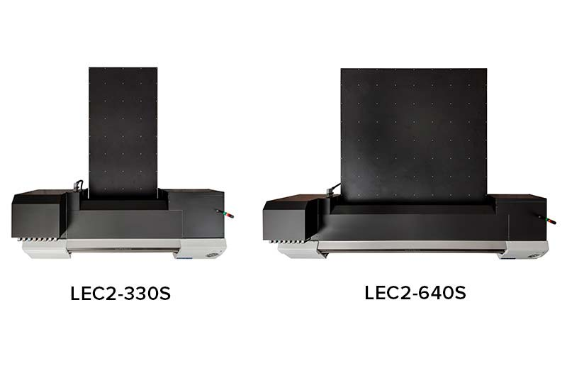 VersaUV LEC-330S en LEC-640S bovenaanzicht