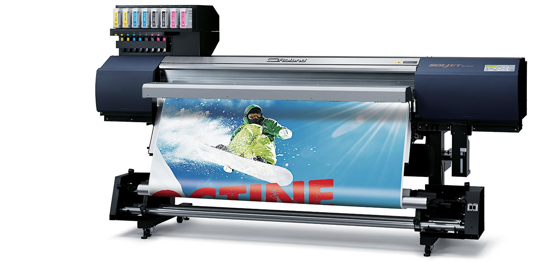 Широкоформатний цифровий принтер SOLJET® EJ-640
