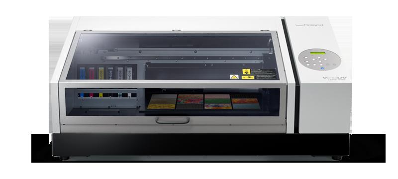 Настольный планшетный принтер VersaUV LEF2-200 для УФ-печати
