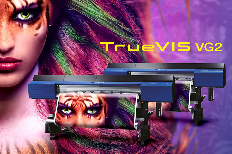 Experience the unmissable Roland TrueVIS VG2 printercutters at FESPA 2019