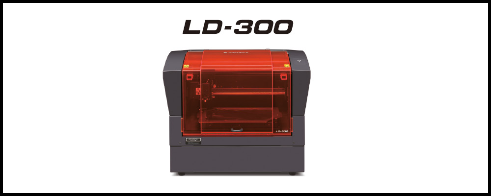 The new LD-300 Laser Decorator from DGSHAPE
